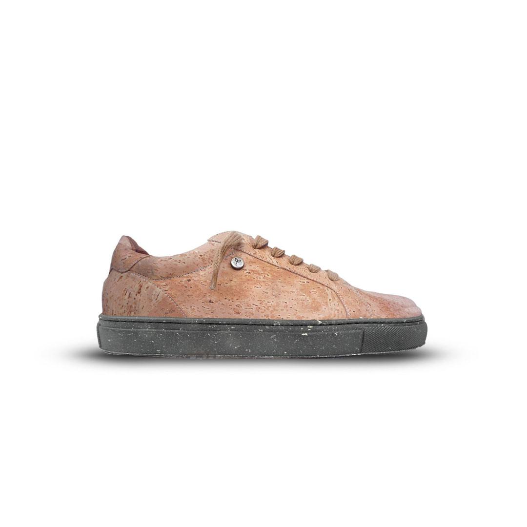 Black Toble Cork Shoes