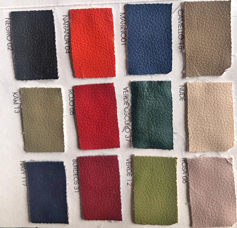 grainy eco-friendly leatherA